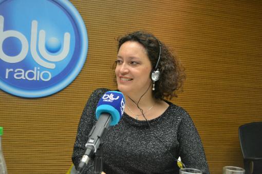18765_BLU Radio. Angélica Lozano // Foto: BLU Radio