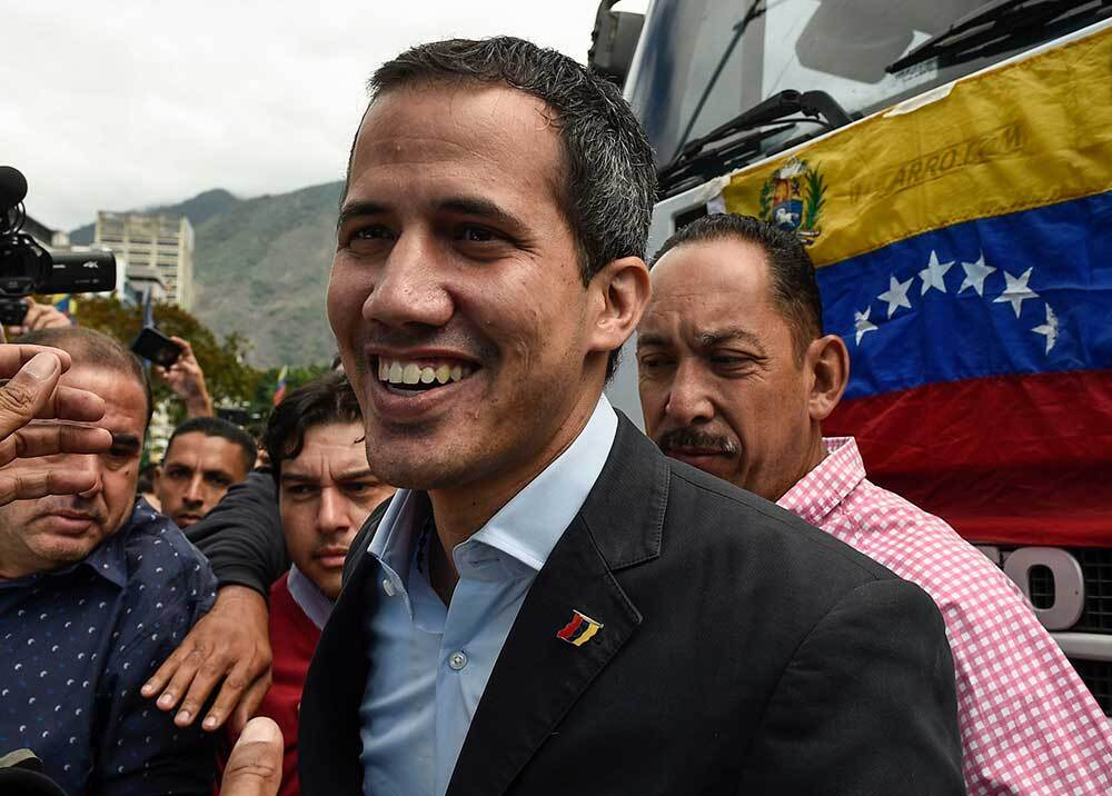 328150_Foto: Blu Radio - Juan Guaidó / AFP