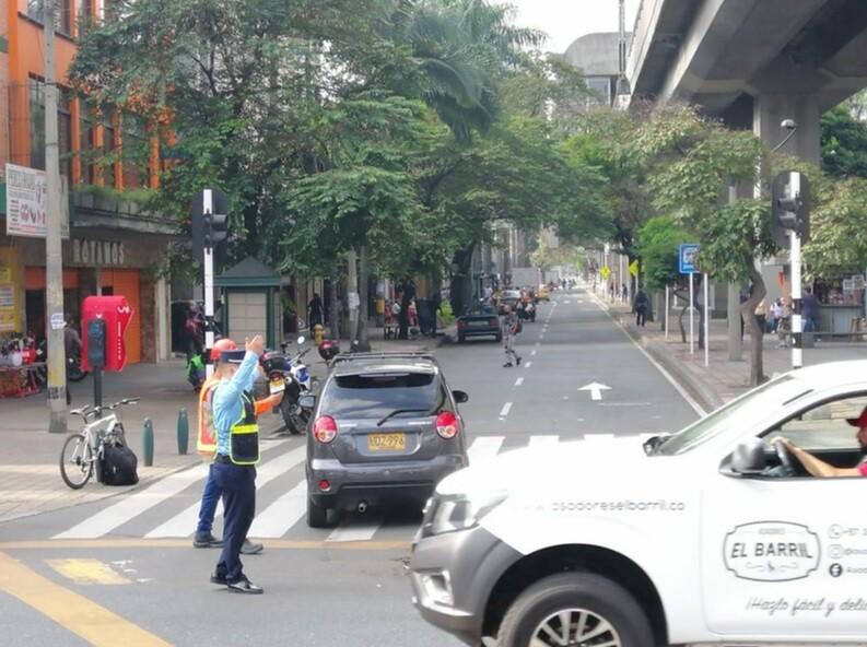 Pico y placa en Medellín para particulares y taxis.