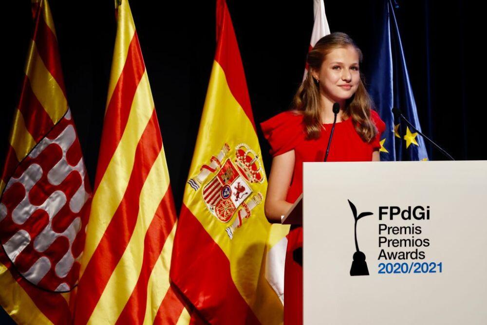 Spanish Royals Meeting With 'Princesa De Girona' Laureates