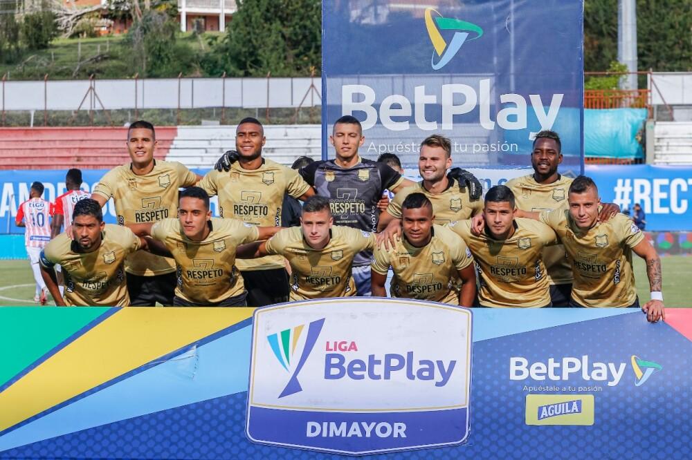 Águilas Doradas contra Junior de Barranquilla, en la Liga colombiana