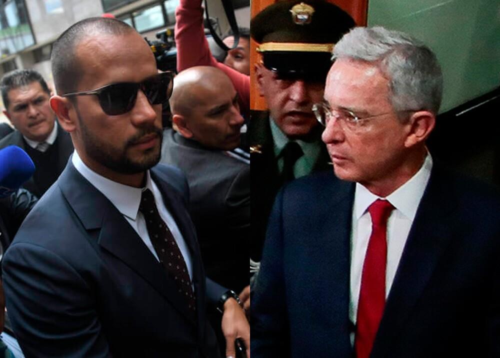 345444_BLU Radio. Diego Cadena y Álvaro Uribe / Fotos: cortesía Gustavo Torrijos, El Espectador - AFP