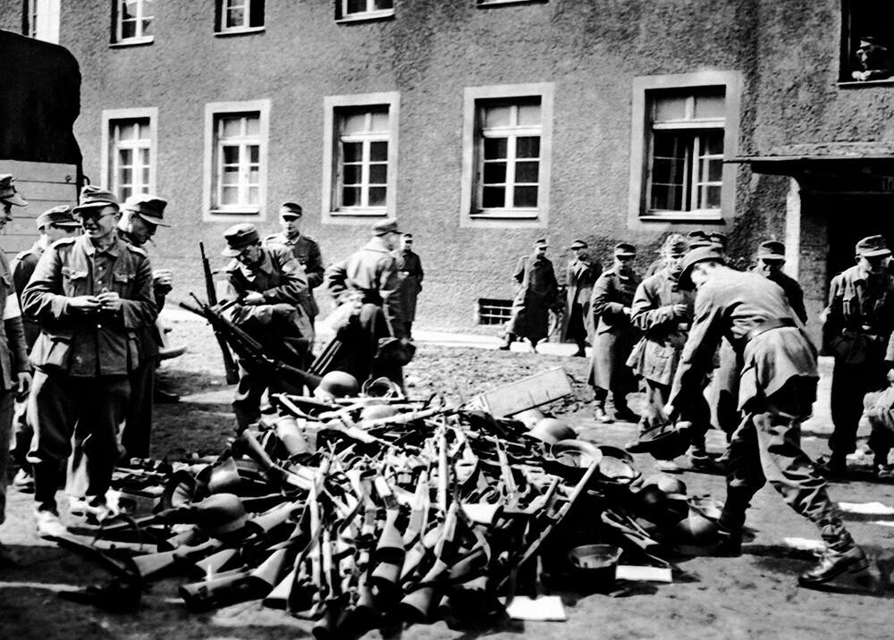 363072_Fin de la Segunda Guerra Mundial en Europa // Foto: AFP