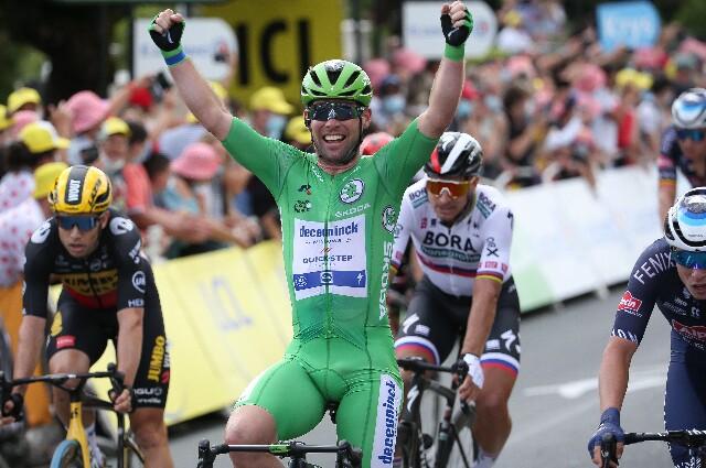 Mark Cavendish, en el Tour de Francia