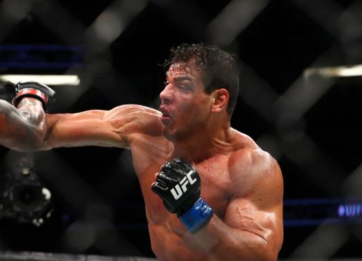 Paulo Costa estaba borracho en su combate de la UFC frente a Israel Adesanya.