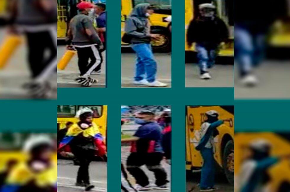 Nuevo cartel de los más buscados en Bogotá 10082021