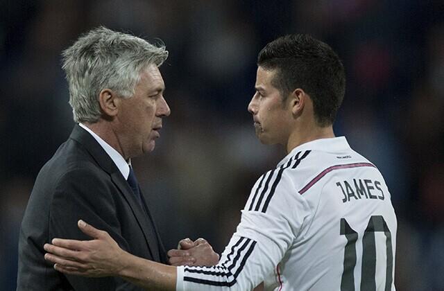 339855_James Rodríguez y Carlo Ancelotti