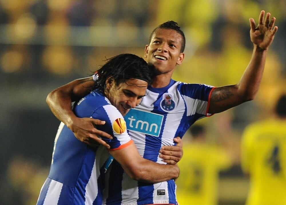 Fredy Guarin Radamel Falcao García Porto Foto AFP.jpg