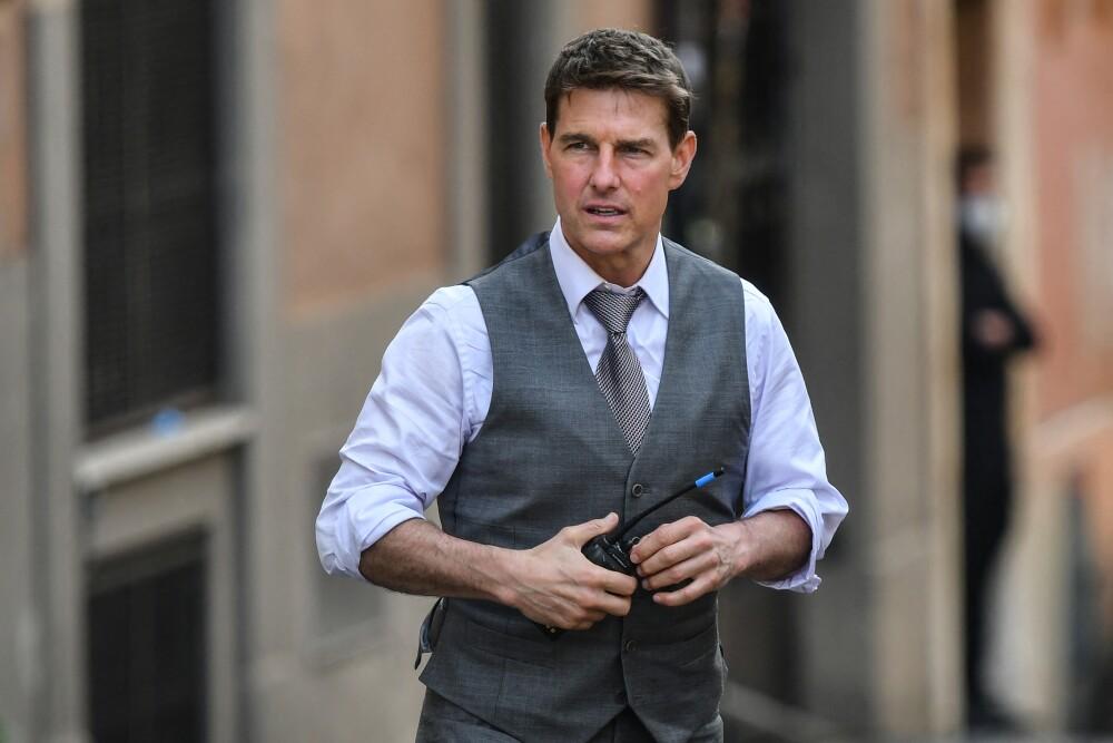 Tom Cruise asistió en compañía de su hijo Connor y mientras disfrutaba del partido fue fotografiado por los fanáticos
