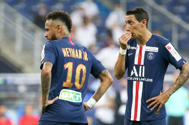 Neymar y Di Maria