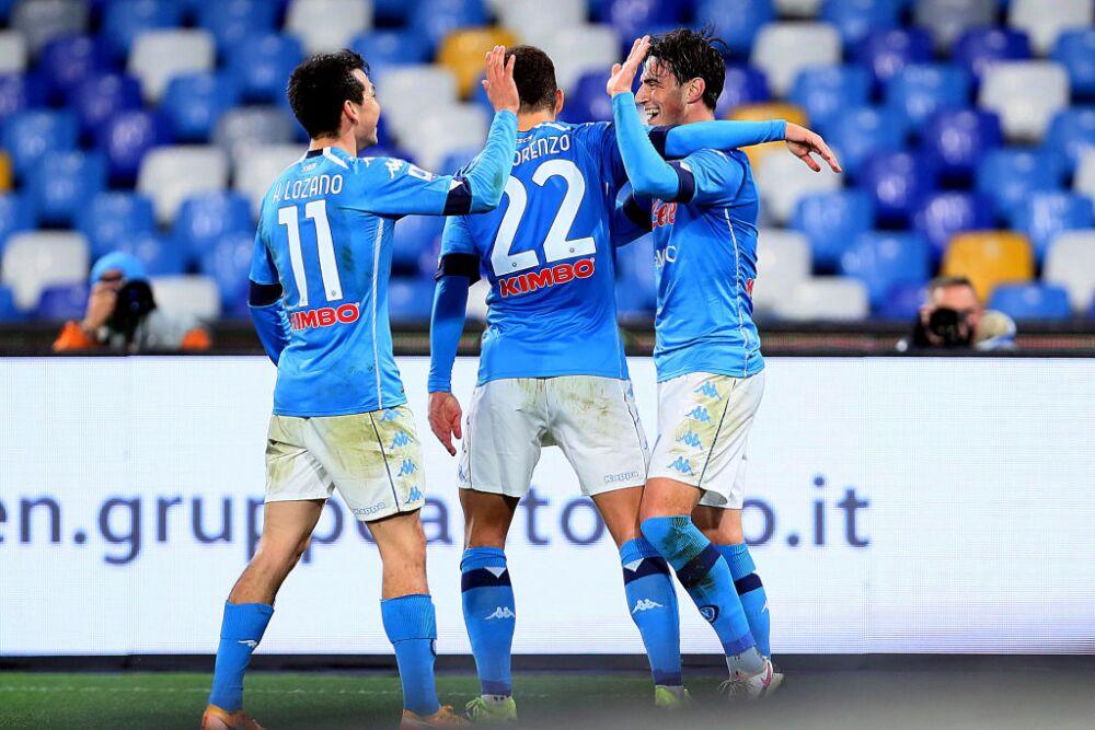 Nápoles celebra vs Parma