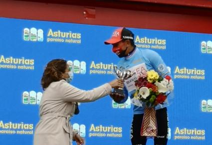 Nairo Quintana es el líder de la Vuelta a Asturias