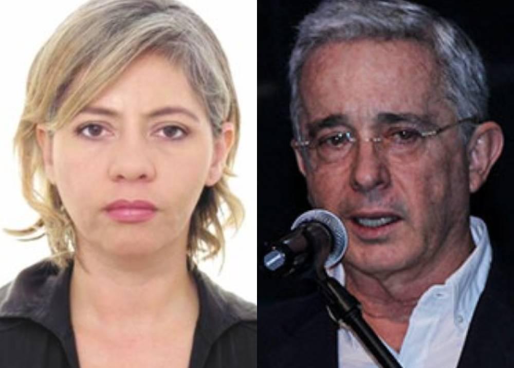 Victoria Eugenia Jaramillo - Álvaro Uribe