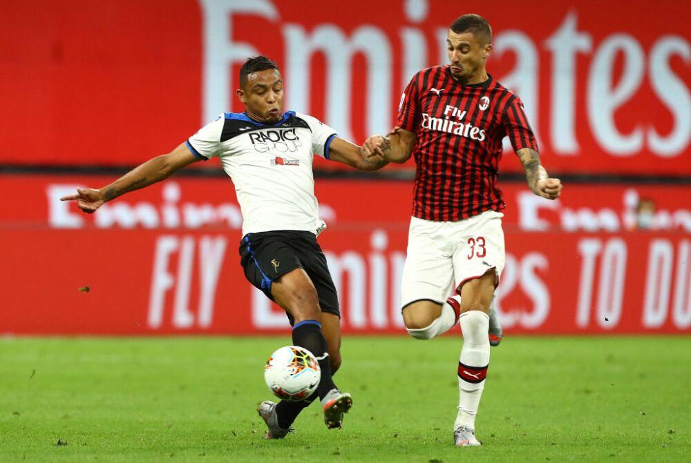 Luis Fernando Muriel, Atalanta vs Milan