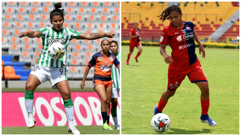 Independiente Medellín contra Atlético Nacional, en la Liga Femenina