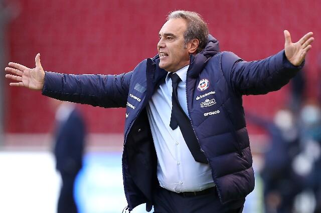 Martín Lasarte, entrenador de la Selección de Chile
