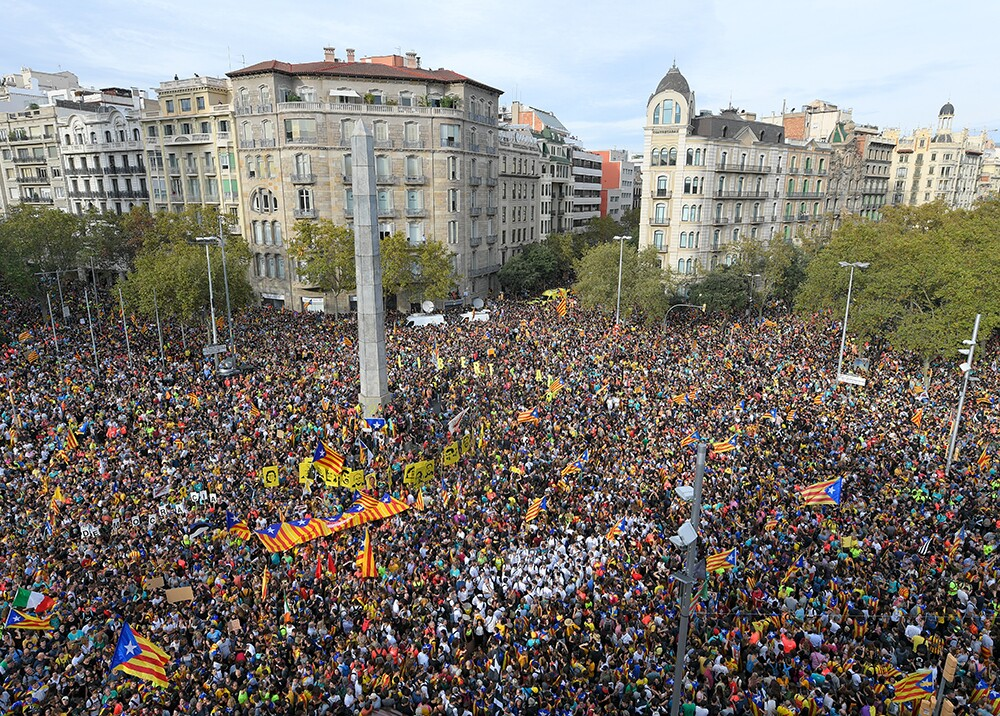 346218_Manifestación Barcelona - Foto: AFP