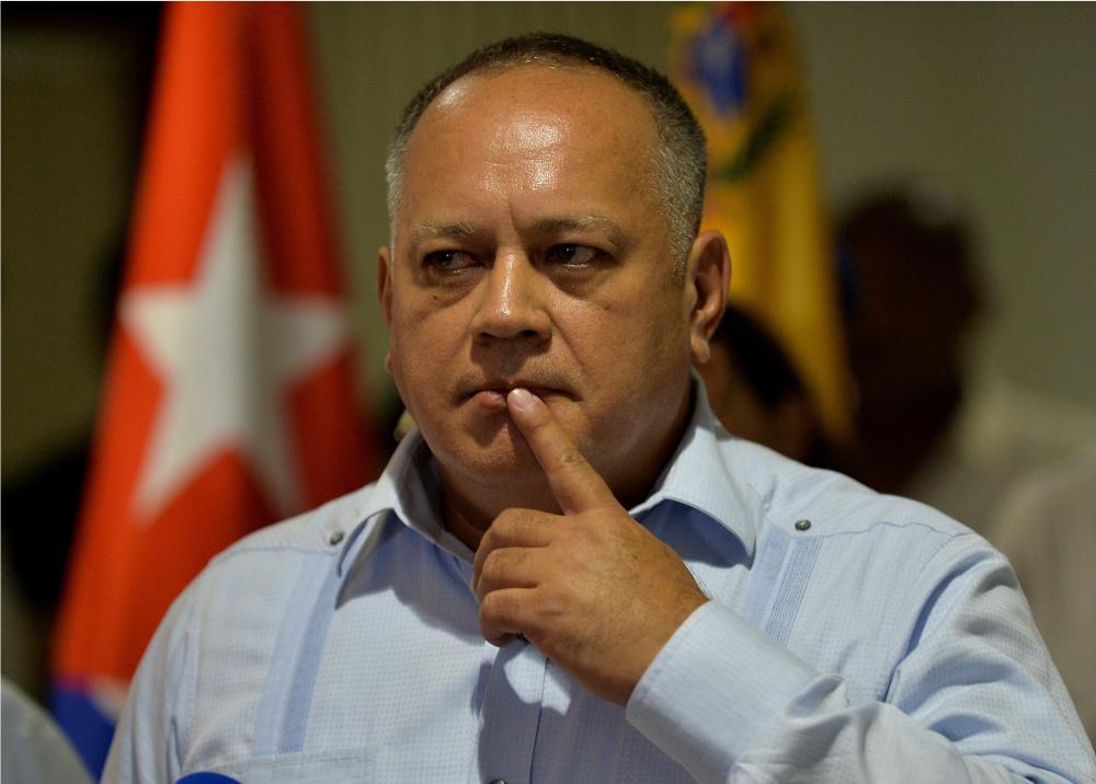 335820_BLU Radio // Diosdado Cabello en Cuba // AFP