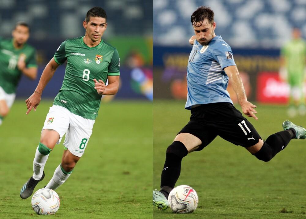 Selección Bolivia Uruguay AFP.