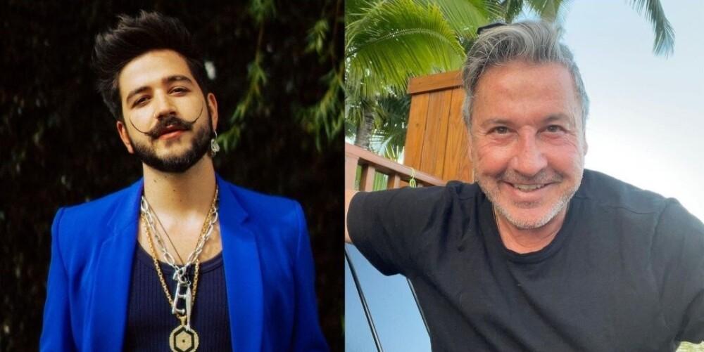 Camilo y Ricardo Montaner, cantantes.