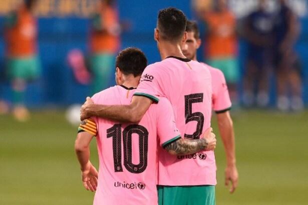 Vea El Segundo Gol De Lionel Messi Hoy En Barcelona Vs Girona En Partido Amistoso