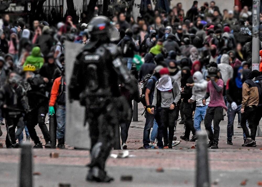345579_Protestas // Foto: AFP