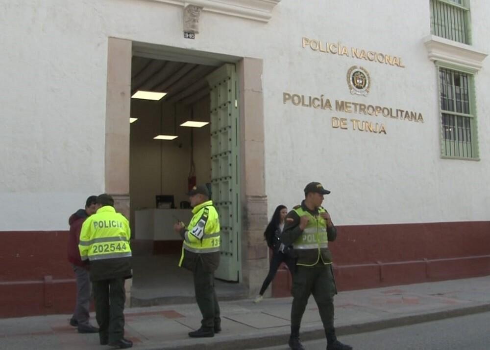 335851_BLU Radio. Policía Metropolitana de Tunja // Foto: BLU Radio