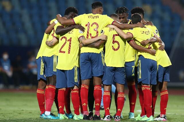 Rueda de prensa de la Selección Colombia