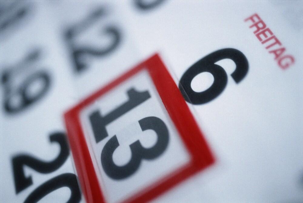 El martes 13 es considerado como una fecha de mala suerte.