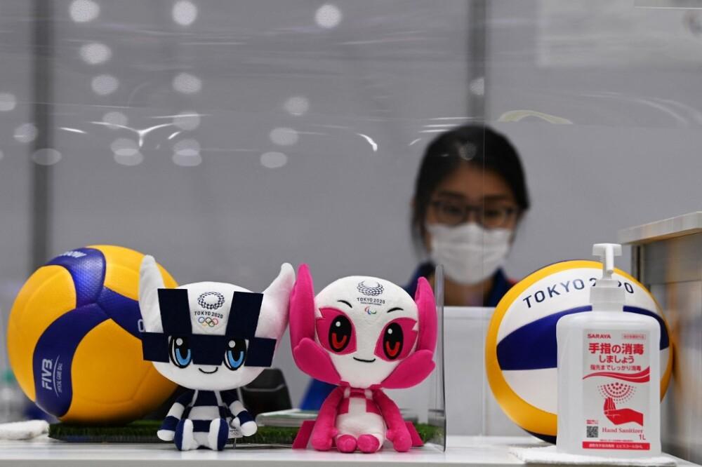 Miraitowa  y Someity, mascotas de Tokio 2020