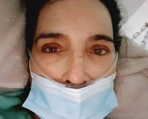 Luly Bossa hospitalizada por coronavirus JPG