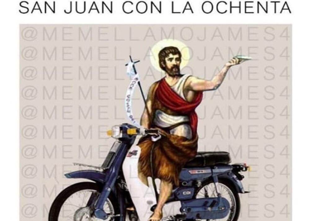 345008_BLU Radio. Meme de San Juan con la 80 / Foto: Twitter