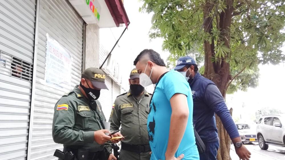 370518_BLU Radio // Cierre de locales comerciales // Foto: Alcaldía de Barranquilla