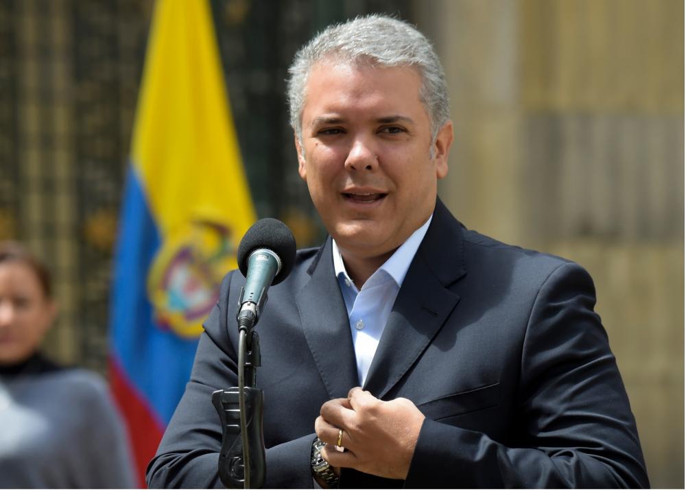 314426_Blu Radio. Iván Duque. Foto: AFP