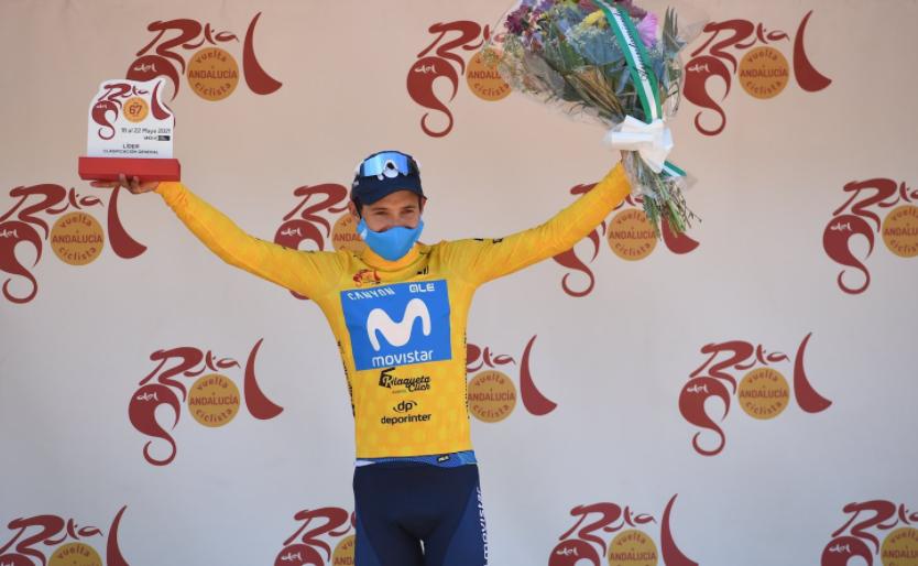 Miguel Ángel López se quedó con el título de la Vuelta a Andalucía 2021.