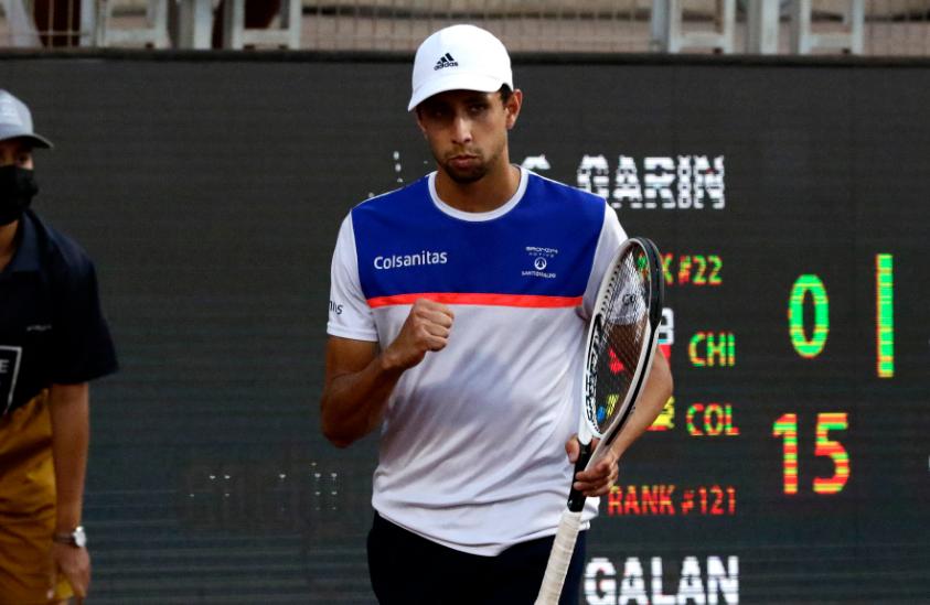 Daniel Galán es puesto 112 del ránking ATP.