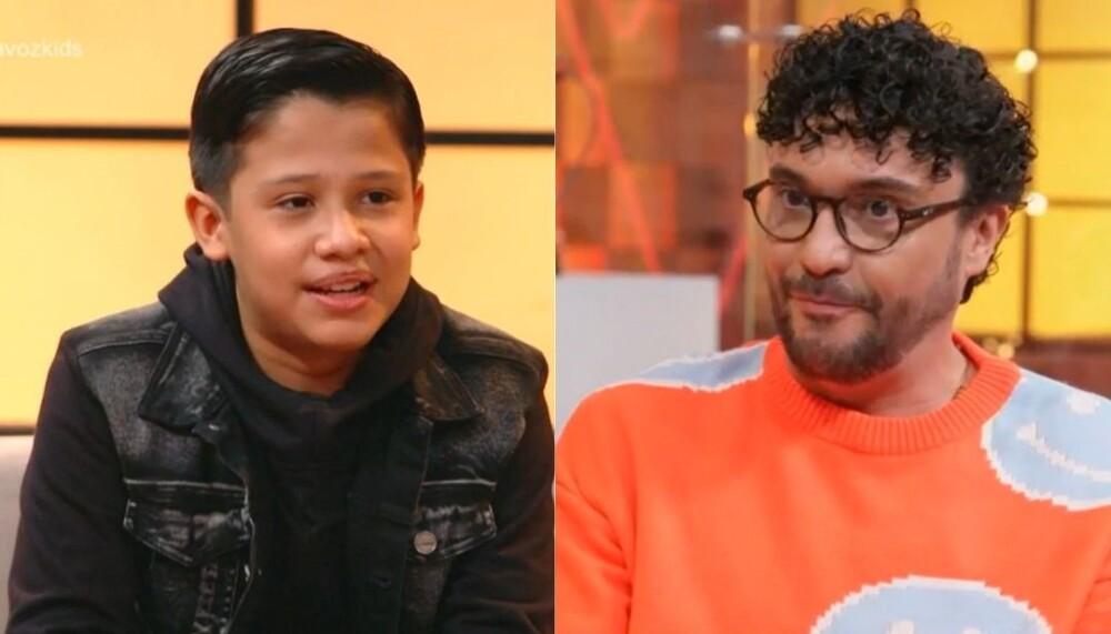 La emotiva confesión de Camilo en La Voz Kids.