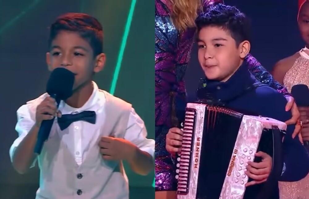 Santiago volvió a La Voz Kids.