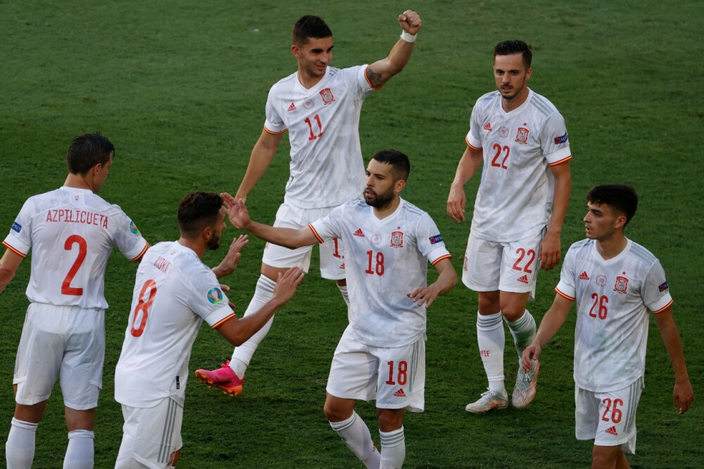 Selección España AFP.