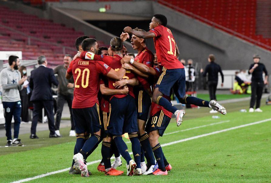 376604_Selección de España // Foto: AFP