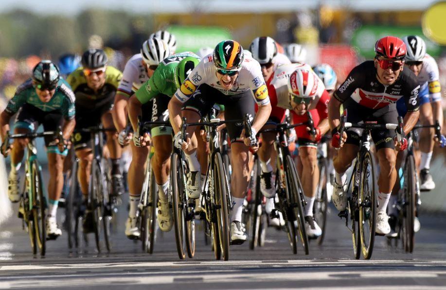 377186_Tour de Francia // Foto: AFP