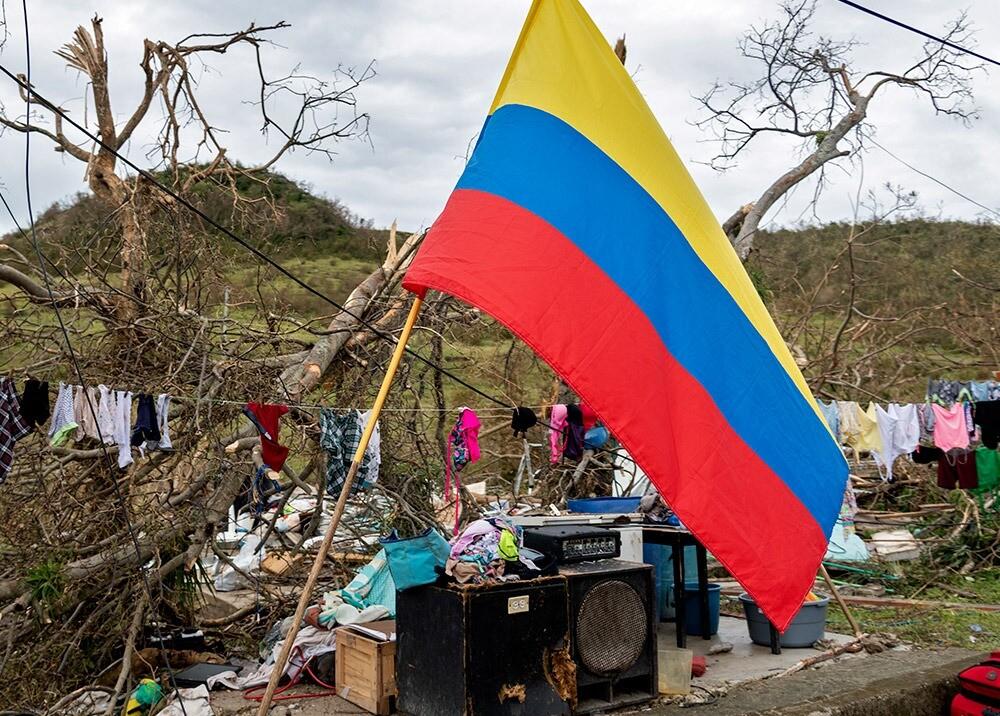 Devastación en Providencia : AFP.jpeg