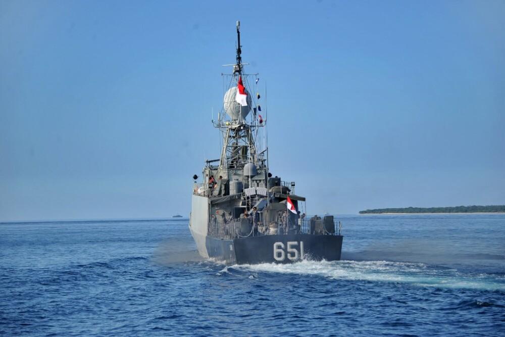 Búsqueda submarino Indonesia