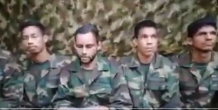 Militares secuestrados en el estado de Apure.JPG