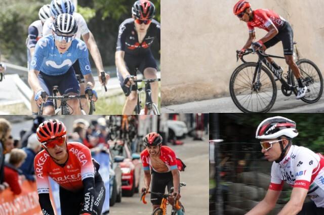 Cinco colombianos estarán en el Critérium del Dauphiné.
