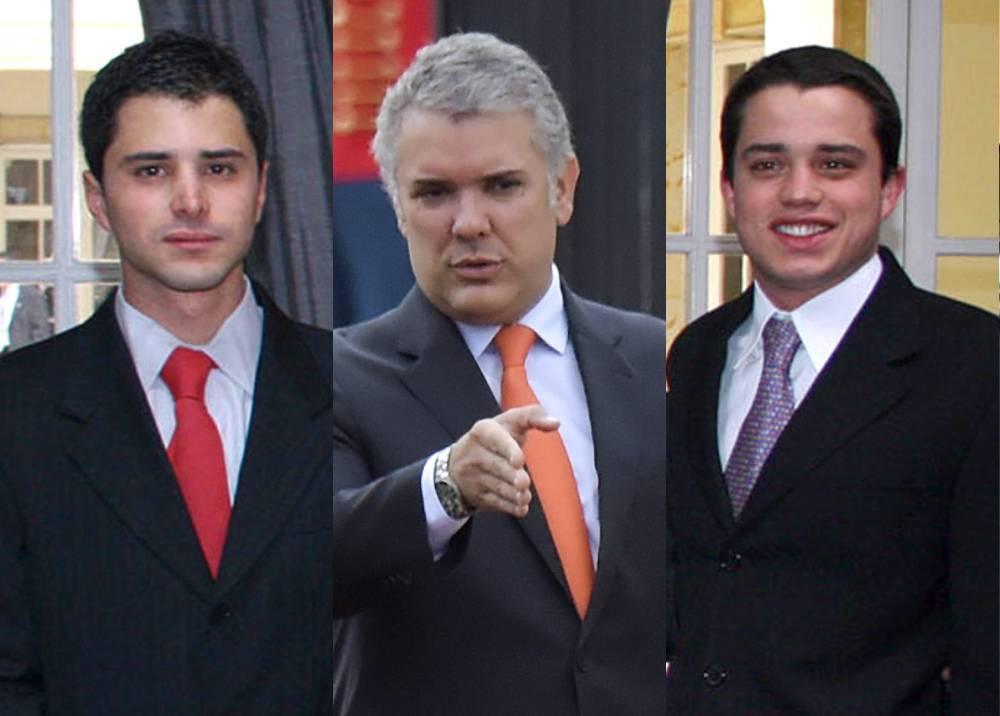 Iván Duque, Tomás y Jerónimo Uribe Moreno