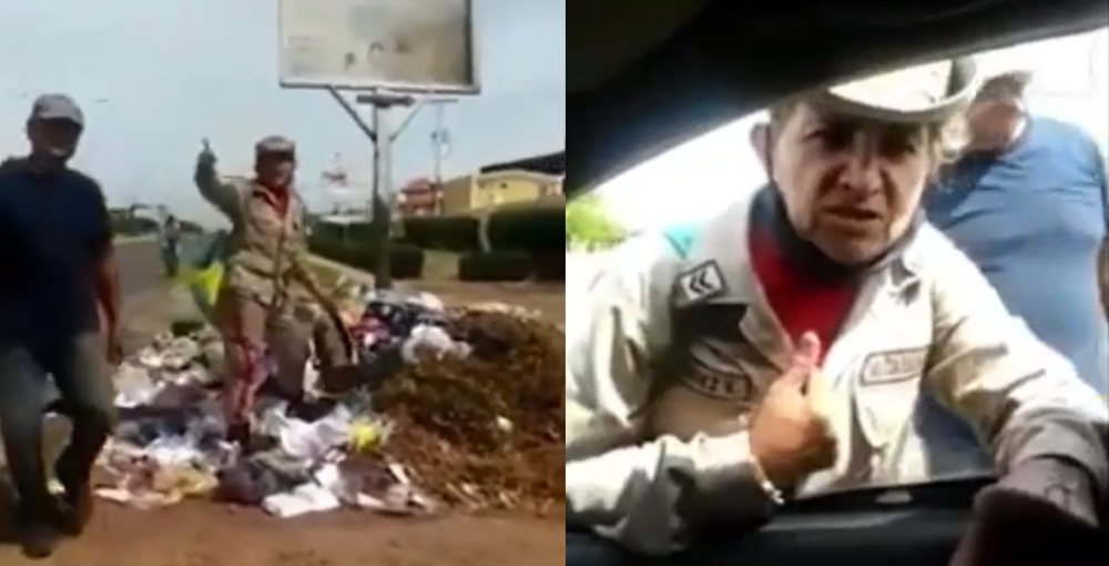 Miliciana chavista