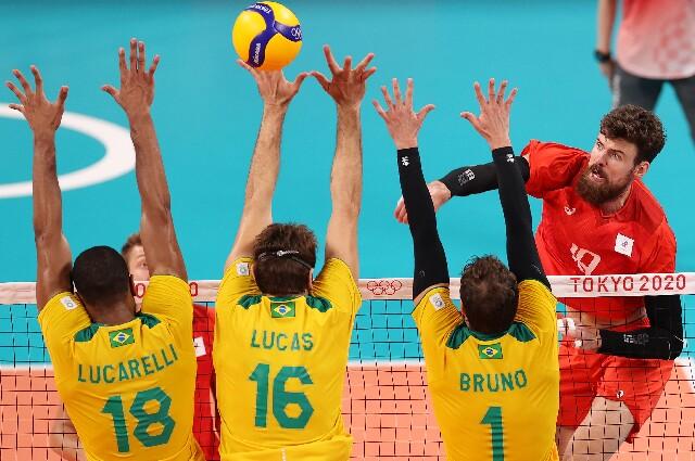 Brasil frente a Rusia en los Juegos Olímpicos de Tokio 2020