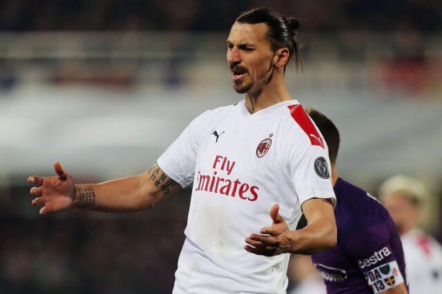 333989_Zlatan Ibrahimovic, delantero del Milan.