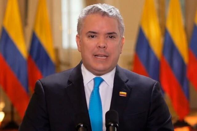Iván Duque habla de la paz en Colombia